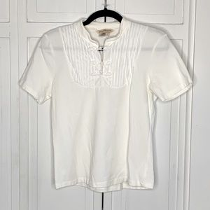 💕3 for $20💕 Norm Thompson Rope Toggle Detail Tee